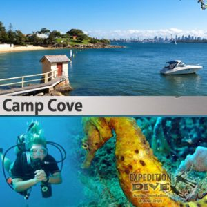 camp cove combined expedition dive